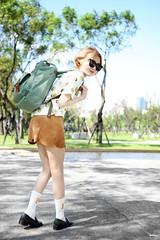 IMG_2171 (loveyuflame) Tags: style doughnut backpack lookbook streetstyle ootd fashionblogger queenshop ibaobao healthknit choies friday購物 cutiefive