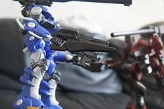Armored Core - Mirage C01-GAEA-UN (Uncontrolled) Belonging Sapphirus Force Ver. (Marco Hazard) Tags: force mirage armored core ver sapphire belonging jash uncontrolled az01 izami c01gaeaun sapphirus