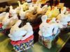 Potinhos de Páscoa (Pina & Ju) Tags: soft handmade artesanato páscoa feltro patchwork coelho coelhos decoração pote enfeite