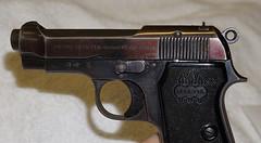 Beretta 380 ACP 1934 (1009) (Rezz Guns (AZ GUNS-R-US)) Tags: rifle cal pistol match guns revolver 50 colt barrett fn browning firearm beretta 380 amt officers grips automag herstal bonehill