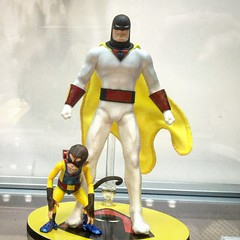 Mezco Space Ghost (misterperturbed) Tags: spaceghost dccomics mezco hannabarbara one12collective nycc2015 newyorkcomiccon2015