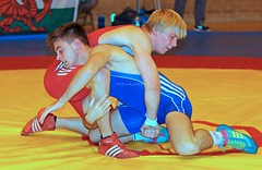 KV8A5745 (on_the_mat_uk) Tags: uk sports canon freestyle mark wrestling competition 7d wrestler wrestle ii welshpool 2015 centre british britishwrestling eos flash juniors onthematuk