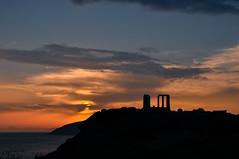 sun display (.) Tags: sunset atardecer greece grecia cape ellada sounio
