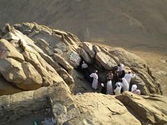 Visit to the cave. Jabal noor, mount hira (brooklynyte4ever) Tags: islam mecca umrah quran makkah hajj revelation prophetmuhammad mounthira jabalnoor