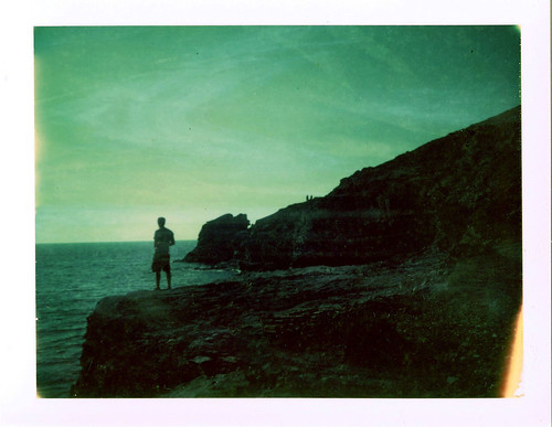 Towards hope he gazes - Cornwall 2015
