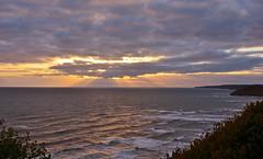 Golden Brigg (Macca6691) Tags: sea sky cloud sunlight seagulls seascape beach nature sunrise landscape coast landscapes outdoor shore northsea esplanade coastline scarborough southbay northyorkshire seabirds sunsrays filey southwards fileybrigg caytonbay clifflift southcliff southbaypool whitenab
