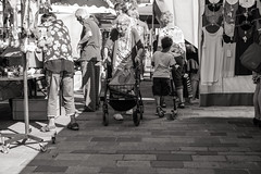Old Woman on a Market (x1klima) Tags: voyage street travel light summer portrait urban blackandwhite woman sun streets cute beautiful beauty fashion female youth skinny sadness lights licht model women couple jung pretty erotic mood loneliness legs lumire candid kunst femme models young streetphotography teens teen mature elderly beaut teenager lonely traveling lovely frau mode miniskirt einsamkeit emptiness busty mdchen rostock grief streetview frauen voyages nonnude voluptuous minirock downblouse urbanity minijupe sonya7r sonarfe55mmf18za