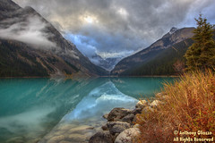 """Lake Louise (9275) (Anthony """"Tony G"""" Gliozzo (Web Site is ocbirds.com)) Tags: ca lake canada mountains color clouds alberta missionviejo lakelouise albertacanada canon5dmarkiii anthonygliozzo ocbirdscom banffcounty canon100400mmisiilusm"""