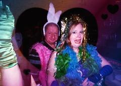 IMG_0008 (spoeka) Tags: carnival pink party bunny analog cn 35mm germany stars deutschland costume rainbow lomo lomography kiss colours cologne stranger lips analogue colourful mermaid unicorn kb bunt calypso hase regenbogen karneval kuss einhorn sterne köln singleuse kodak800 verkleiden lippen kostüm meerjungfrau altweiber einwegkamera unicornsrainbowsandothercrazyshit vorbelichtet algaedeepseamonster