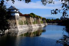 Osaka Castle moat, , , saka-j Ch-ku, Osaka, Japan (Caroline) Tags: castle japan osaka   sakaj chku