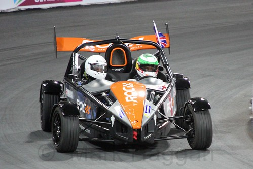 Andy Priaulx in The Race of Champions, Olympic Stadium, London, November 2015