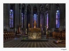 Cathédrale Notre-Dame-de-l'Assomption de Clermont (JG Photographies) Tags: france french europe cathédrale hdr auvergne puydedôme clermontferrand religieux choeur hdrenfrancais canon7dmarkii jgphotographies