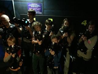 Laser Tag Social - November 2015