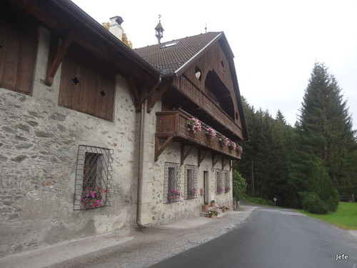 On the road to Nockalmstrasse Pass...