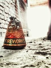 Fireworks (kshitizz8) Tags: red india fire sand floor firework cracker diwali