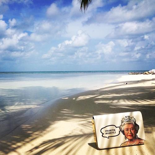 Bespoke Queen on the beach