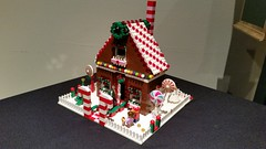 KCBricklab Gingerbread Houses Holiday 2015 (utinni) Tags: holiday lego gingerbreadhouse legoholiday legogingerbreadhouse kansascitybricklab kcbricklab