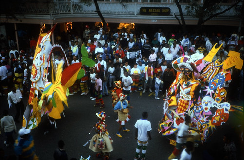 "Bahamas 1988 (121) New Providence: Junkanoo • <a style=""font-size:0.8em;"" href=""http://www.flickr.com/photos/69570948@N04/22938141304/"" target=""_blank"">View on Flickr</a>"