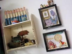 Assemblage Gallery (Tina Gilmore) Tags: moon creative indigo workshops