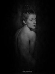 lea (marc von martial) Tags: light portrait blackandwhite bw white black film a