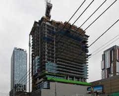 The Bond (Marcanadian) Tags: city autumn toronto ontario canada building fall architecture construction downtown bond adelaide development lifetime 2015