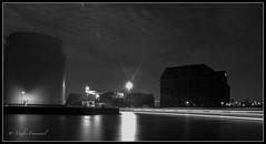 Westhafen bei Nacht