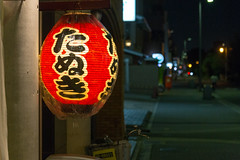 Tanuki || Japan (BX_Orange) Tags: city light red rot japan abend licht kyoto nacht plastic tanuki lampion kytoshi kytofu