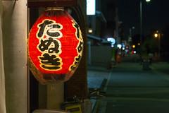 Tanuki || Japan (BX_Orange) Tags: city light red rot japan abend licht kyoto nacht plastic tanuki lampion kyōtoshi kyōtofu