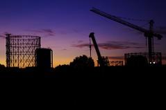 skyline (Claudio Ciccotelli) Tags: rome skyline gasometro
