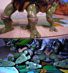 "Nickelodeon ""HISTORY OF TEENAGE MUTANT NINJA TURTLES"" FEATURING LEONARDO -  TMNT 2k3 LEONARDO v / ..with Original '03 Leonardo (( 2015 )) (tOkKa) Tags: 2005 toys comic 1988 2006 1993 1992 leonardo figures toysrus 2012 2007 teenagemutantninjaturtles tmnt nickelodeon 2014 2015 displaystand playmatestoys ninjaturtlesthenextmutation toysrusexclusive tmntfastforward toontmnt tmntmovie4 turtlemilkstudios eastmanandlairdsteenagemutantninjaturtles moviestartmnt varnerstudios toonleo paramountteenagemutantninjaturtles 4kidstmnt paramountsteenagemutantninjaturtles tmnt2003 historyofteenagemutantninjaturtlesfeaturingleonardo davearshawsky tmnt2014movie"