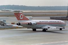 Turkish Airlines Boeing 727-2F2/Adv TC-JBM (Kambui) Tags: flugzeuge avions airplanes aviones avies aeroplani   airplane kambui trkei turkey trkiye frankfurtammain rheinmain eddf turkishairlines boeing 7272f2adv tcjbm