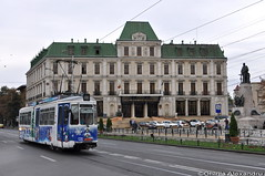 GT4 #126 @Stada Cuza Voda, Iasi (Chirila Alexandru) Tags: gt4 tram tramway iasi moldova city public transport ratp regia autonoma persoane