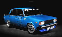 VAZ 2105 (ARTemnikov) Tags: vaz 2105 ulyanovsk artemnikov timespark nori yaro dori work equip speedhunters drifthunters blue