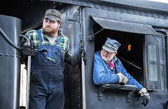 Professionals (joemcmillan118) Tags: colorado silverton dsng durangosilverton steamlocomotive engineer fireman k28 473 earlymorning