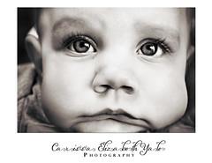 sad little face (carissaelizabethyalephotography) Tags: baby person people human boy eye eyes face faces blackandwhite bw sad sleepy sweet capavating chunky chunkycheeks eyelashes bright brighteyes toddler florida ocala nose ear eyebrow