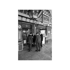 Teatime . . . (Dichtung & Wahrheit (Poetry and Truth)) Tags: street railway traindispatcher movementsinspector traindirector tea teatime