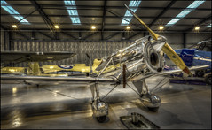 The Shuttleworth Collection 14 (Darwinsgift) Tags: shuttleworth collection museum old warden hangar bedfordshire aviation history historic aircraft planes fight flying machines aeroplane silver hdr photomatix nikkor 20mm f18 g nikon d810 vintage antique