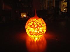 3d printed Halloween Pumpkin Jack-O-Lantern by Dizingof (Dizingof) Tags: 3dprinting 3dizingofcom halloween dizingof decor pumpkin jackolantern