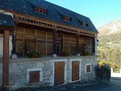 Multistory animal barn (AJ Mitchell) Tags: poulailler henhouse permaculture valdazun farm rural barn chickens pigpen pigeonloft