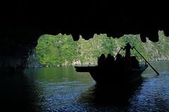 Mysterious cave explore ~ puzzle like scene (Go Go Janet) Tags: puzzle silhouette unesco
