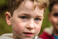 Blue eyes and freckles (Superali007) Tags: son blueeyes freckles portrait canon canon7d ef100mmf28lisusmmacro family