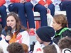 Natasha Baker with Tanni Grey-Thompson (Suede Bicycle) Tags: olympics rio rioolympics rio2016 olympicgames heroeswelcome trafalgarsquare summerolympics olympicparade paralympics rioparalympics