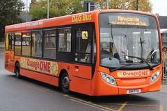 D&G Bus Alexander Dennis Enviro200 111 (SN11 FFU) (john-s-91) Tags: dgbus alexanderdennisenviro200 111 sn11ffu newcastleunderlyme theorangeone
