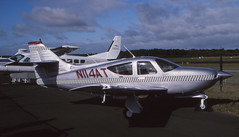 Commander Advanced Trainer (Pentakrom) Tags: sbac farnborough 1994 rockwell commander 114b n114at