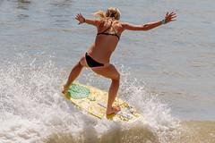 2016 Vilano Beach Pro Am Skim boarding compettion (James Kellogg's Photographs) Tags: vilano beach pro am skim boarding board contest florida surf surfing teenager atlantic ocean water canon 7d mark outdoor sport swim surfer blonde