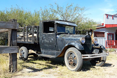 P1130221 Old Ford (lois manowitz) Tags: gallerygang arizona