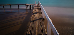 Shelly Beach Jettly (Pen Photo) Tags: shelly private jetty portsea seascape ocean bay beach sunrise canon wooden morning water