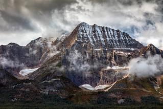 Last Glaciers on Mt Fryatt