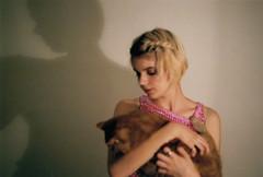 njnnjn (Ella Dawson-Gorton) Tags: 35mm pentaxmesuper pentax cat filmcamera analogue girlgaze golden shadowplay