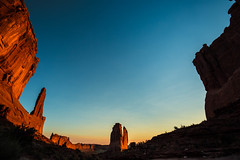 Park Avenue (SnapSnare) Tags: arches national park findyourpark sunrise monoliths utah
